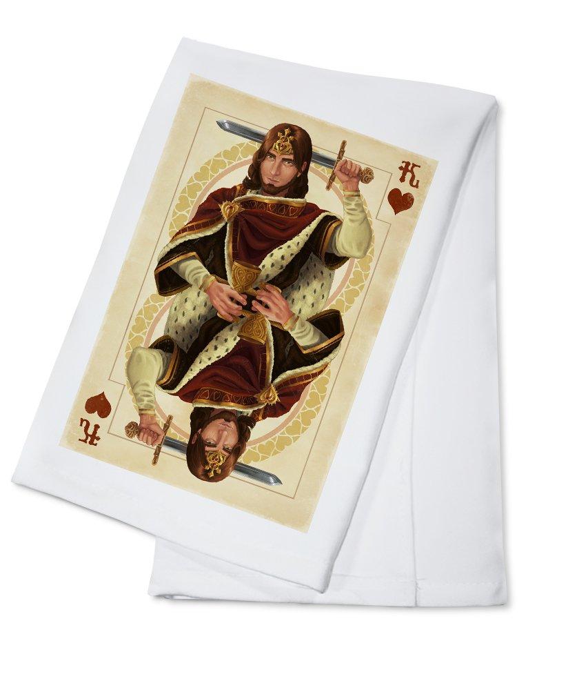 新しく着き ハートのキング Metal – Playingカード 12 x 18 Metal Sign 12 LANT-42808-12x18M x B0184BN3IC Cotton Towel Cotton Towel, 木造町:2bd7eb8e --- 4x4.lt