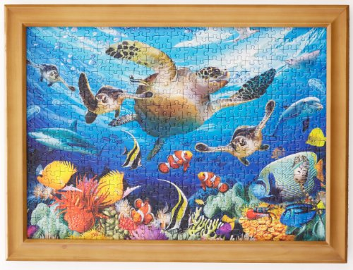 JIGFRAME LIGHT 500 SMALL - Jigsaw puzzle frame to 19.3 inches x 14.3 inches