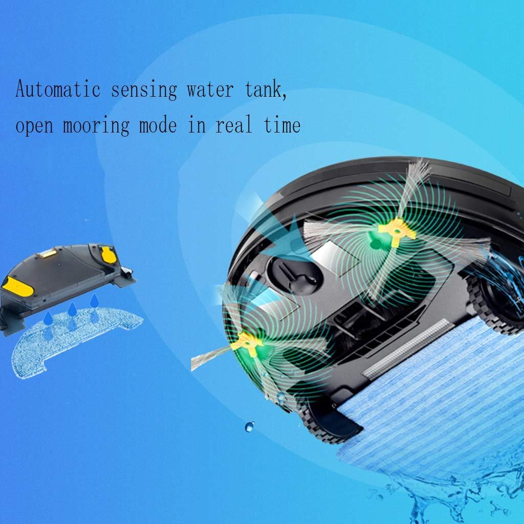 ... pequeña máquina compacta y Ultra Delgada para aspiradora doméstica, Totalmente Auto-móvil, Lavado a presión, Equipo de Limpieza del Campo de Basura, ...