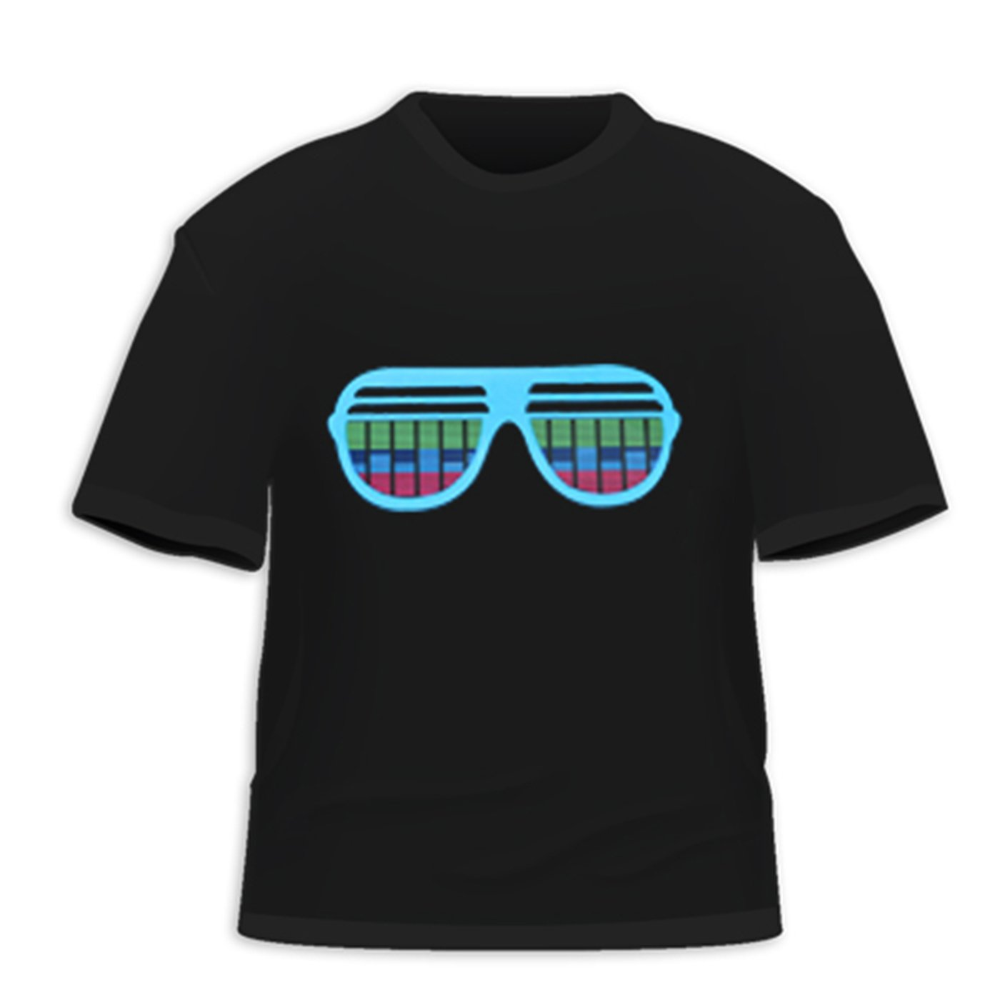 camisetas led