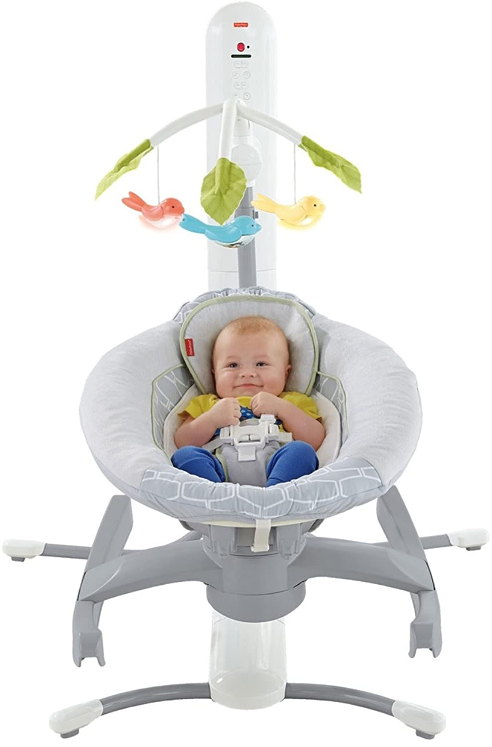 Fisher-Price 4-in-1 SmartConnect Cradle 'n Swing DRP20