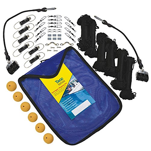Taco Marine Black Standard RK-0003PB Premium Triple Braid Rigging Kit ()