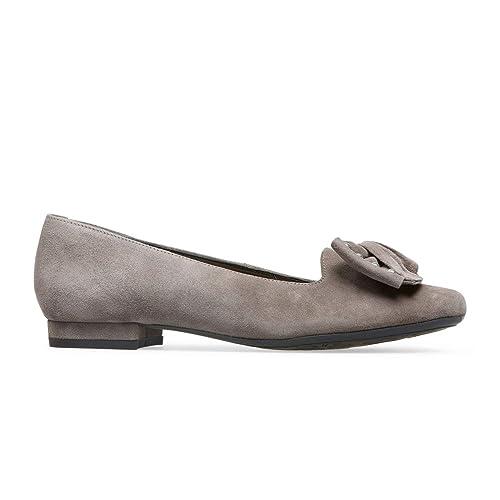b22f5f03c2d1 Van Dal Janet Wide EE Fit Suede Ballet Pump  Amazon.co.uk  Shoes   Bags
