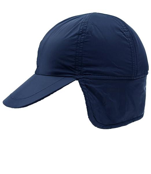 EveryHead Fiebig Basecap Per Ragazzi Baseball Cappellino Berretto Di Nylon Con  Visiera Cappello Invernale Fodera In b44d49de00b4