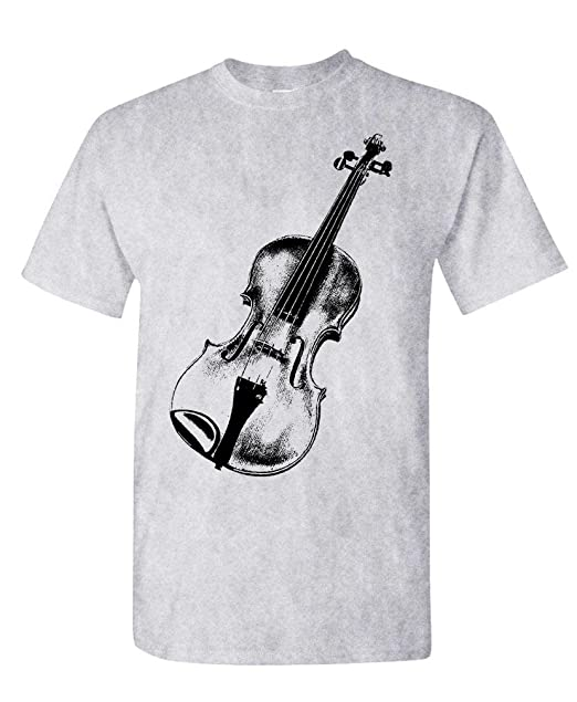 f5363b55 Amazon.com: Live Nice - Violin/Fiddle - Mens Cotton T-Shirt: Clothing