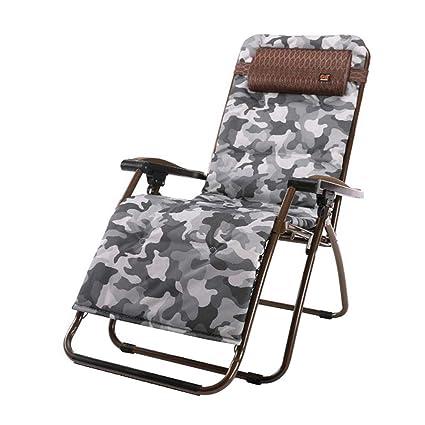 Silla reclinable Plegable Textilene Garden Tumbonas de Playa Ajustable Marrón portátil con reposacabezas con portavasos (