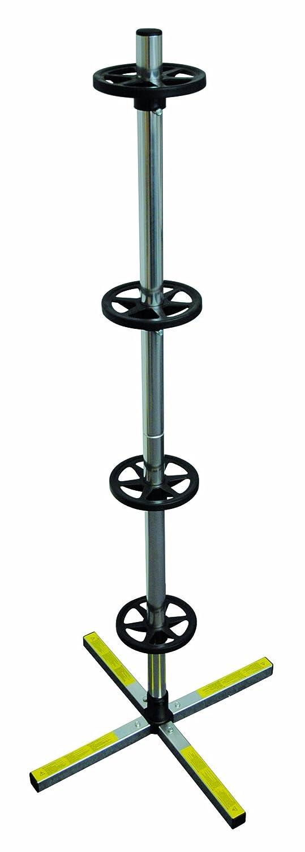 Cartrend 50207 Carrello porta pneumatici, misura XL, per pneumatici larghi fino a 285 mm