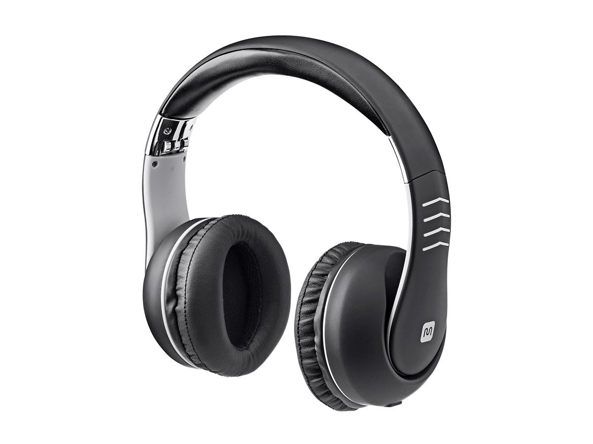 Monoprice Over the Ear Active Noise Canceling Headphones with 10 dB Bass Boost