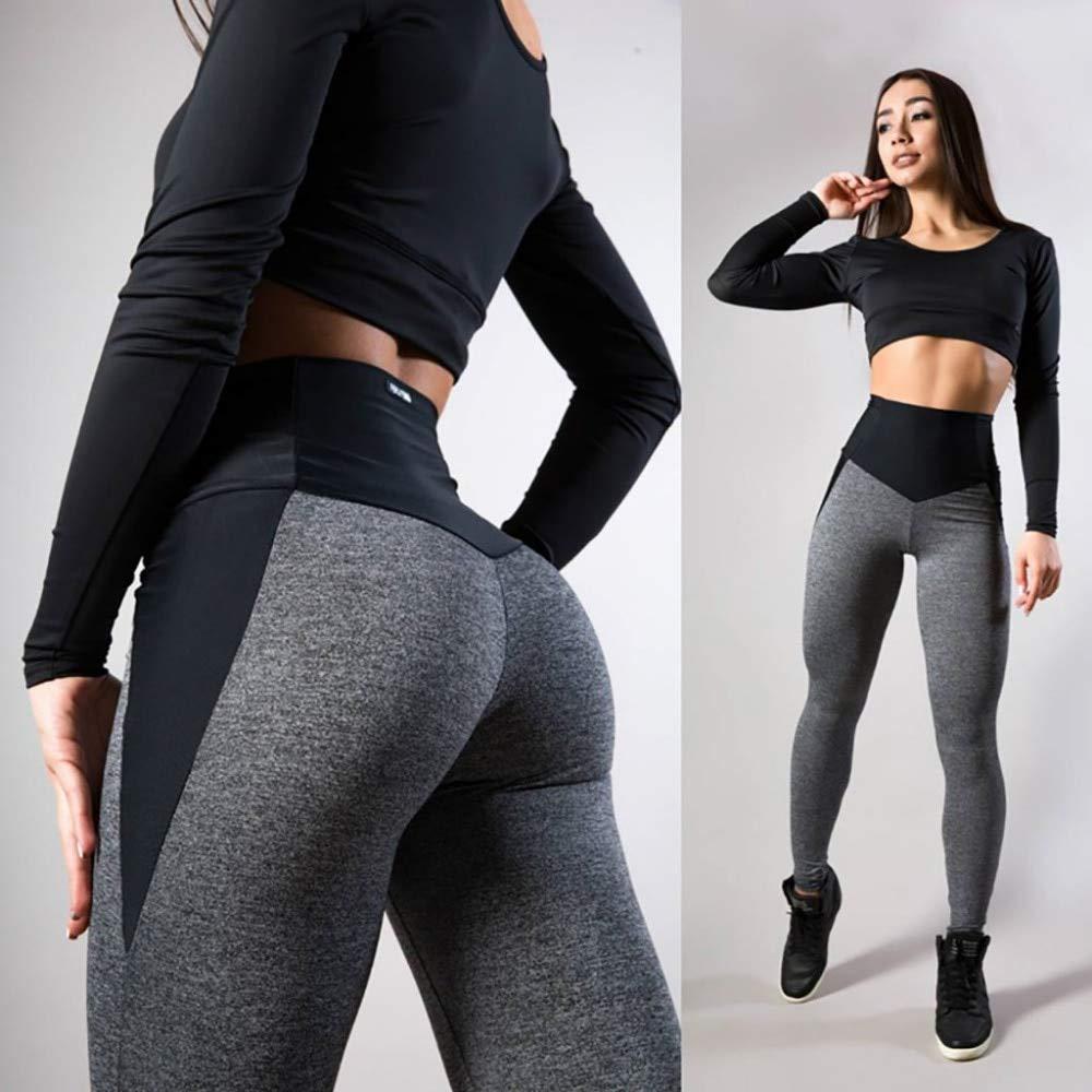 YUYOGAP Frau Yoga Hosen Baumwolle Frauen Yoga Atmungsaktive Hosen Fitness Sport Laufen Leggings Hip Push Funktion Stretch Hosen