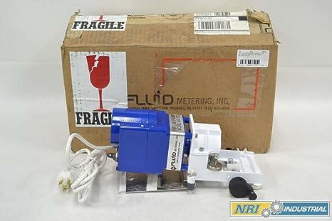 FMI QG150 150RPM Q PUMP LOW SPEED LOW FLOW 115V-AC METERING