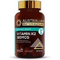 Australian NaturalCare - General Health Support - 180mcg Vitamin K2 Tablets (90 Tablets)