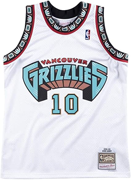 Mitchell & Ness Vancouver Grizzlies Mike Bibby 1998 Home Swingman Jersey
