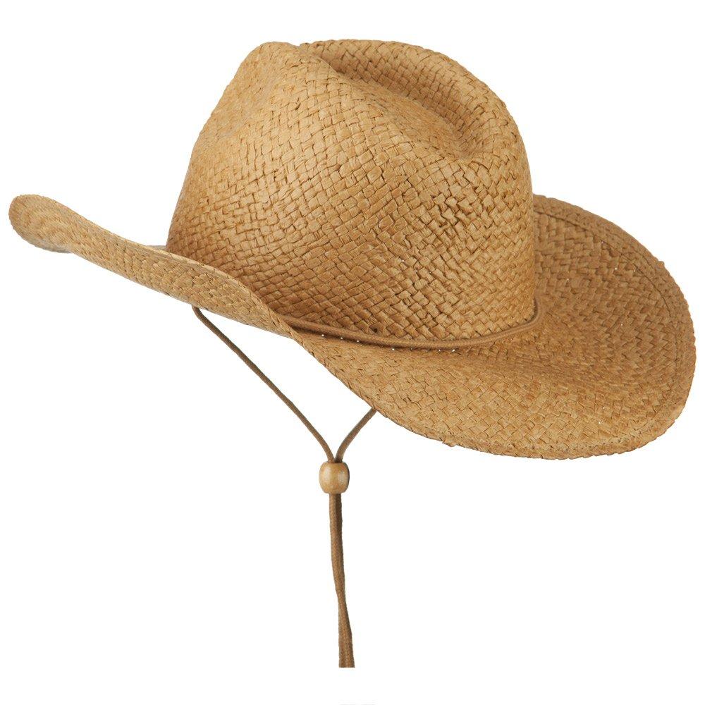 489e6b79b Adjustable String Straw Cowboy Hat