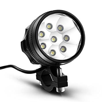 Light With T6 Lamp Head Set Kingtop Cree Led 12000lm 8x Xm Bicycle Uk Red Charger Bike L Cycling lKJ3cTF1