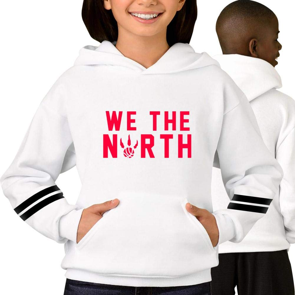ZUOWOW Kids Red Classics We The North Stylish Printed Pockets Pullover Hoodie Fashion Soft Sweatshirt
