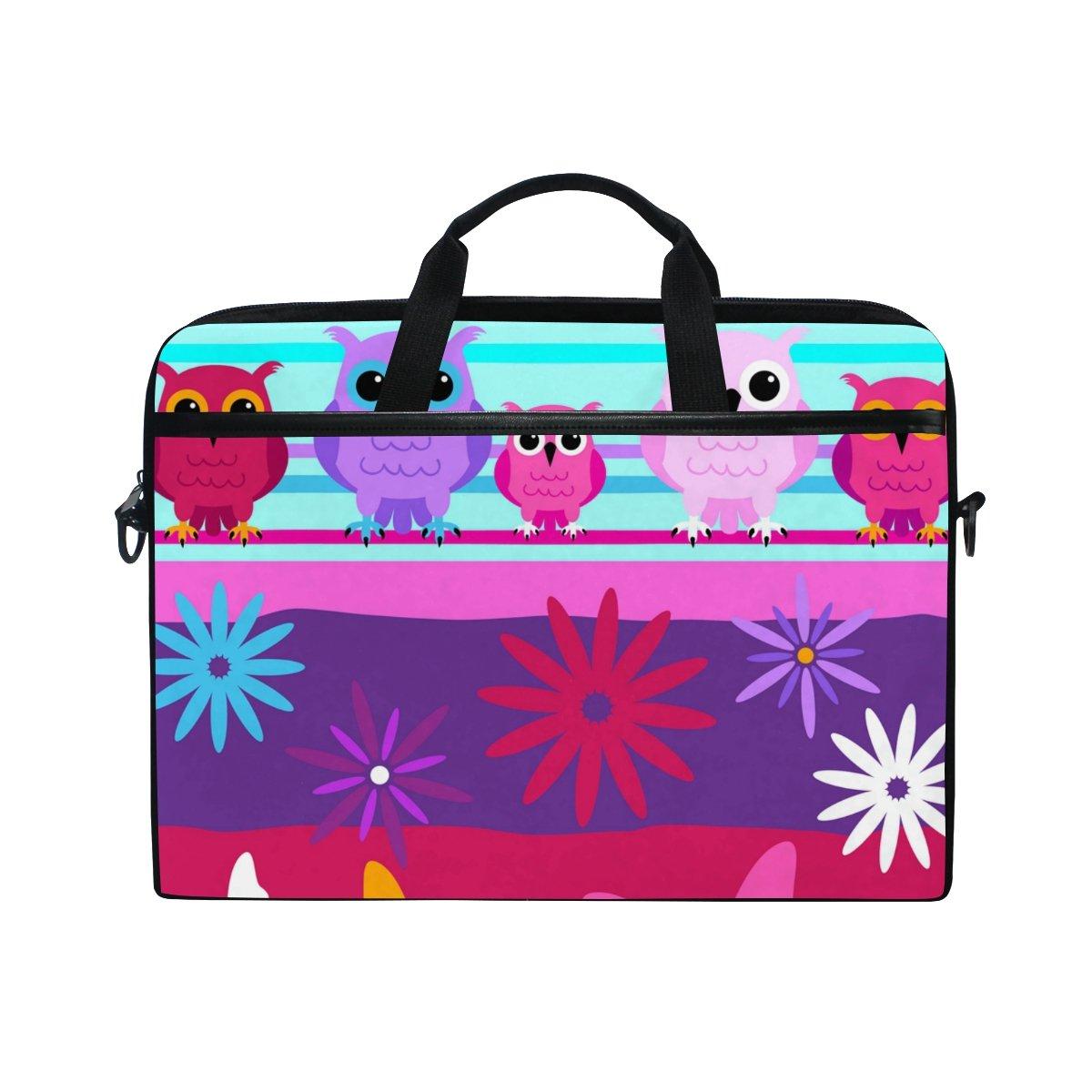 Ahomy - Bolso de Bandolera con diseño de Bolso búho, diseño de Mariposas y Dibujos Animados, Tela Multifuncional e Impermeable de 35,56 cm 7d610d