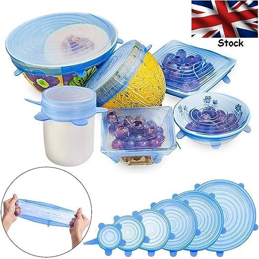 Tapas de silicona protectoras para alimentos, tapas de silicona ...