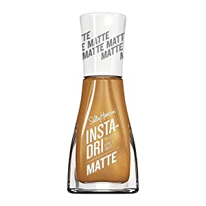 Sally Hansen Insta Dri Matte Metallics, Gold Rush, 0.31 Fl Oz (Pack of 1)