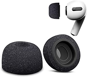 Ngaantyun Replacement Eartips Premium Memory Slow Rebound Foam Ear Tips Noise Reducing Earbud Tips Compatible with Apple AirPods Pro Earphone One Pair - Medium