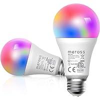 Bombilla LED Inteligente, Wi-Fi Bombilla, Luces Cálidas/Frías RGB