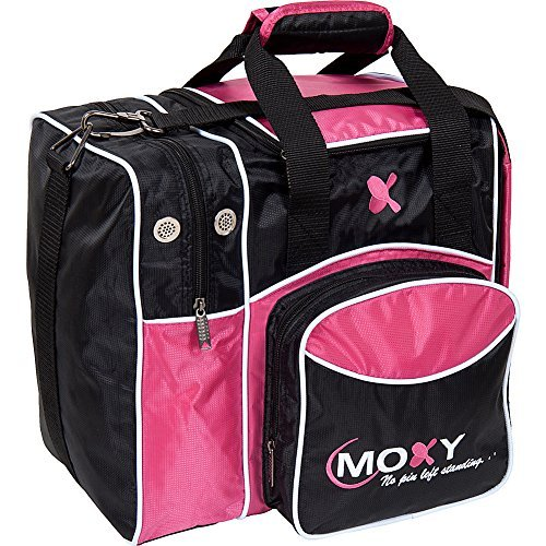 Moxy Bowling Products Single Deluxe Bowling Bag - Pink 1 Bowling Bags Ball
