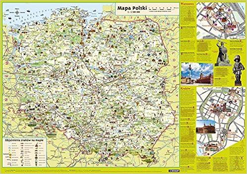 Polska Dla Dzieci Mapa Podreczna Amazon Co Uk 9788374279482 Books