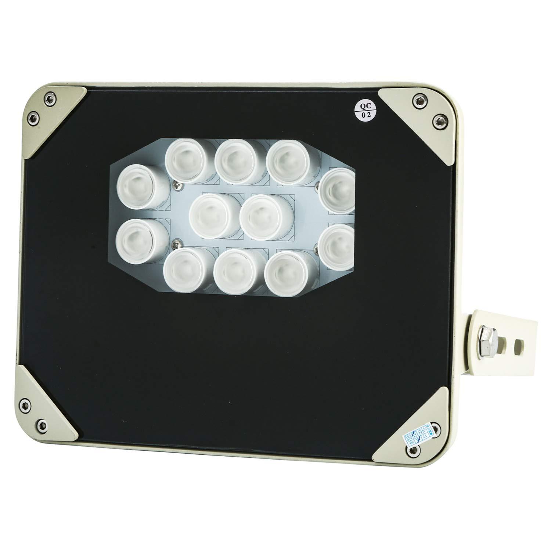 【楽ギフ_のし宛書】 業務用赤外線ライト SE12-IR 照射距離170メートル 波長850nm 照射角30度 2Wの強力LEDを12個搭載した超ハイパワー赤外線投光器 IP66防水防塵 IRライト 850nm 省電力 明るさセンサーで自動点灯 波長850nm 防犯カメラ監視カメラ用 軽量強靭なアルミダイキャストボディ セキュリティ ナイトショット暗視撮影用照明 IRライト LED 屋外アウトドア対応長距離型 30度 850nm B07JVYRJW1, 文化堂印刷:0dcd2078 --- obara-daijiro.com
