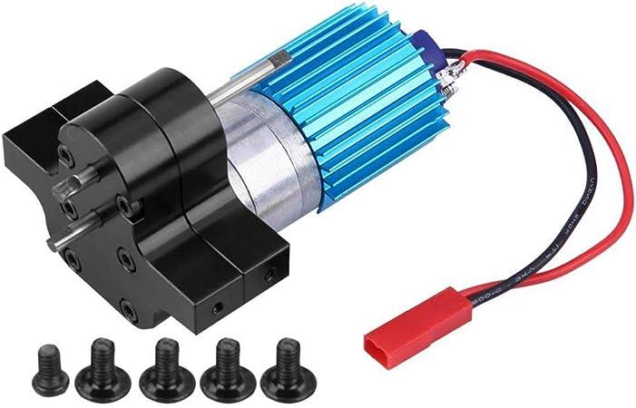 probeninmappx Reemplazo para WPL 1633 RC Coche de la Velocidad de Cambio de Marcha Caja del Metal del Cepillo Motor Caja de Cambios remotos Coches de Control Accesorios: Amazon.es: Hogar