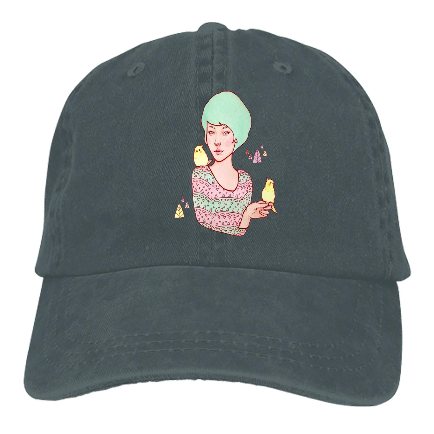 SHUANGRENDE You Complete Me Adjustable Casual Cool Baseball Cap Retro Cowboy Hat Cotton Dyed Caps