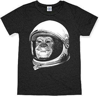 product image for Hank Player U.S.A. Ham The Astrochimp/NASA Helmet Men's T-Shirt