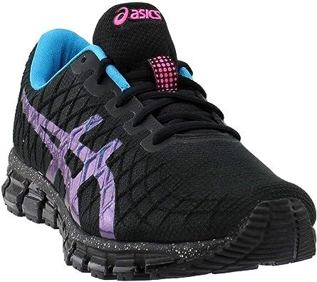 ASICS Mens Gel-Quantum 180 4 Running Casual Shoes, Black, 7.5: Amazon.es: Zapatos y complementos