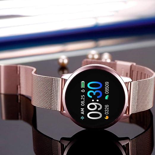 HNLZGL Newwear Q8 Q9 Reloj Inteligente Electrónica de Moda Hombres ...