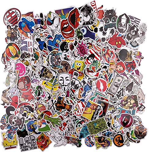 Cool Sticker Pack 700 pcs Laptop Xbox PS5 Stickers Car Decals Motor Bicycle Luggage Suitcase Graffiti Patch Skateboard Vinyls for Kid Children Programmer Geek Driver Non Duplicate Sticker Pack