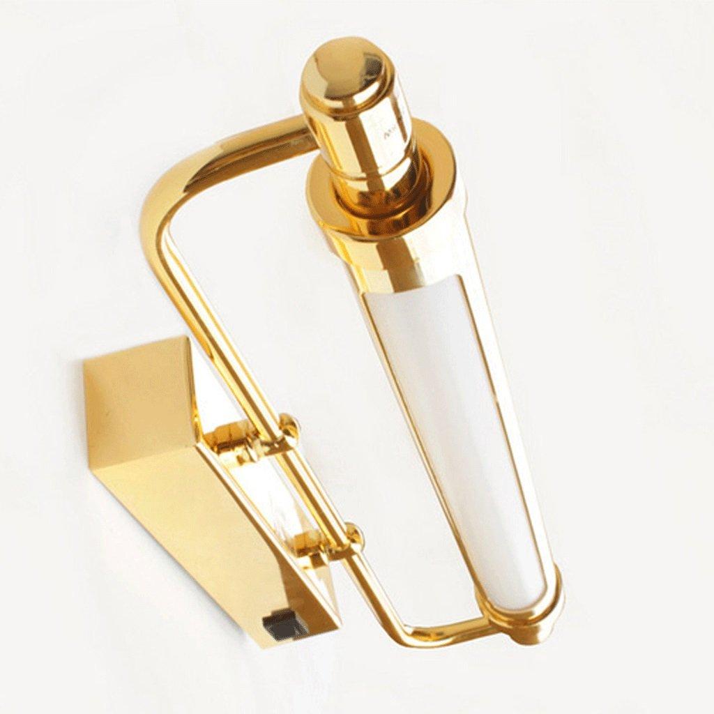 PRIDE S LED Spiegelleuchten Mode Bad mit Schalter Beleuchtung Lampen Energie-Effizienzklasse A + ( farbe   Bronze-8w70cm )