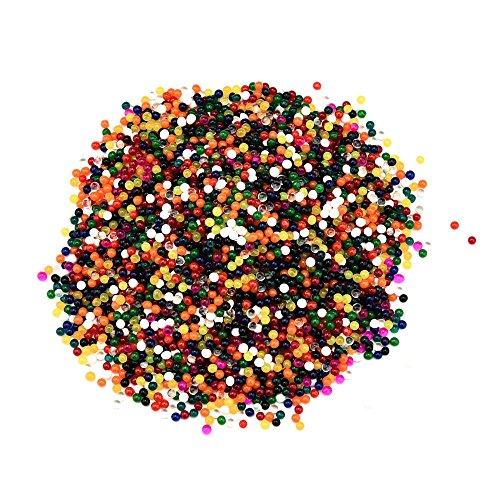 JPJ(TM) ❤️Water Beads❤️100Pcs Fashion Crystal Soils Flower Mud Grow Magic Large Jelly Ball Water Beads Gel -