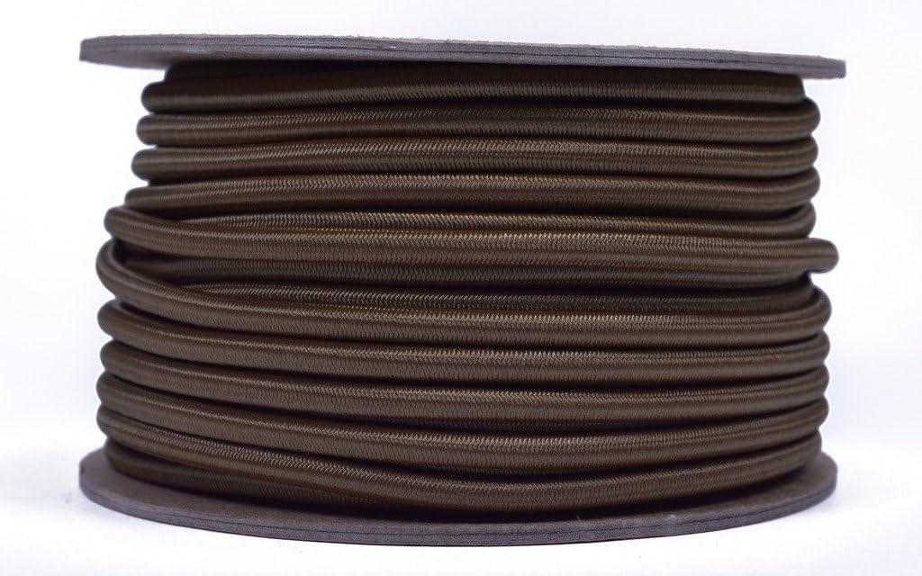 "USA 1//8/"" x 10/' Bungee Cord Shock Cord Bungie Cord Marine Grade Stretch Cord BLK"