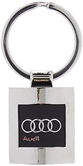 Audi IN14091 Llavero Macizo S-Line Design, Cromado, Negro y ...