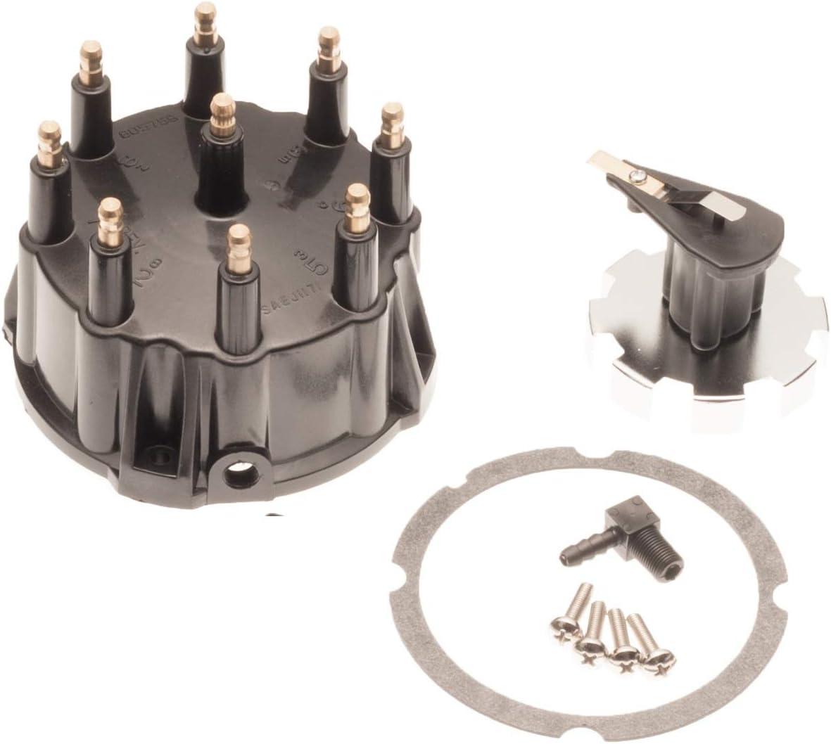 Titan Performance Mercruiser V8 Thunderbolt Distributor Cap /& Rotor Kit 5.0 5.7 7.4 8.2 805759Q3