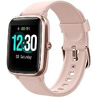 Smartwatch, bransoletka fitness, ekran dotykowy, 5 ATM, wodoszczelny, dla kobiet i mężczyzn, smartwatch do systemów…