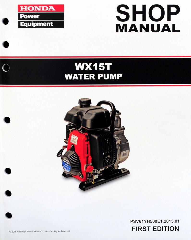 Honda WX15 T Pump Service Repair Shop Manual