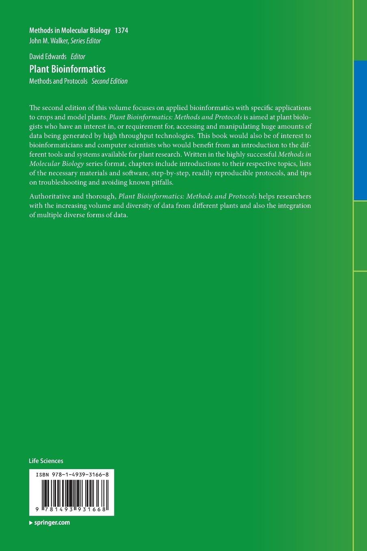 Plant Bioinformatics: Methods and Protocols (Methods in Molecular Biology)