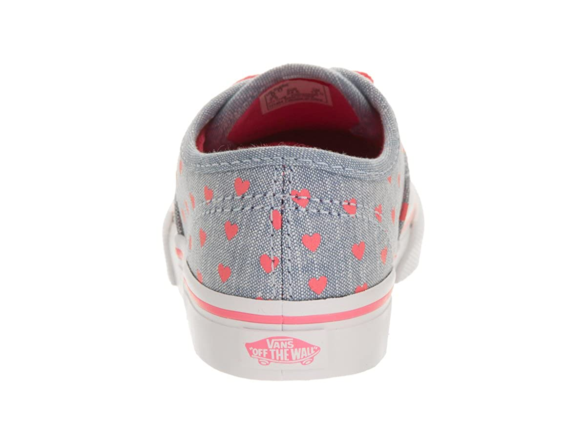 97ab305366 Vans Toddlers Authentic (Chambray Hearts) Blue Tr Skate Shoe 9 Infants US   Amazon.co.uk  Shoes   Bags