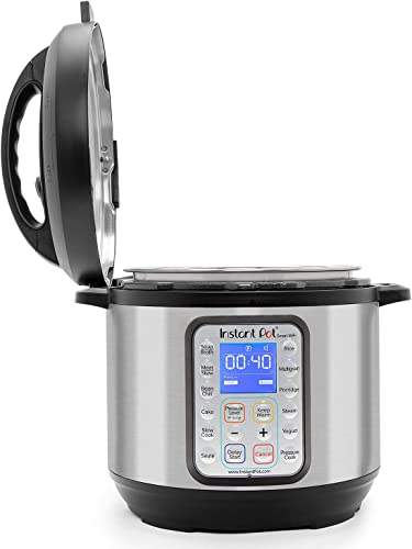 The familiar design from Instant Pot once fully assembled
