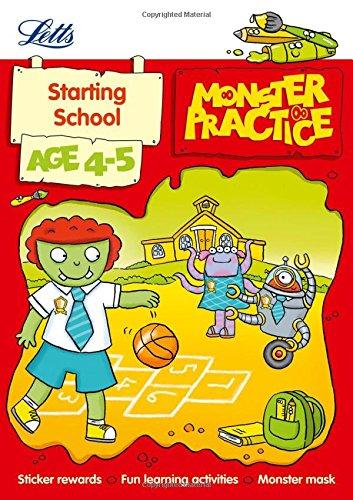 Read Online Starting School Age 4-5 (Letts Monster Practice) pdf