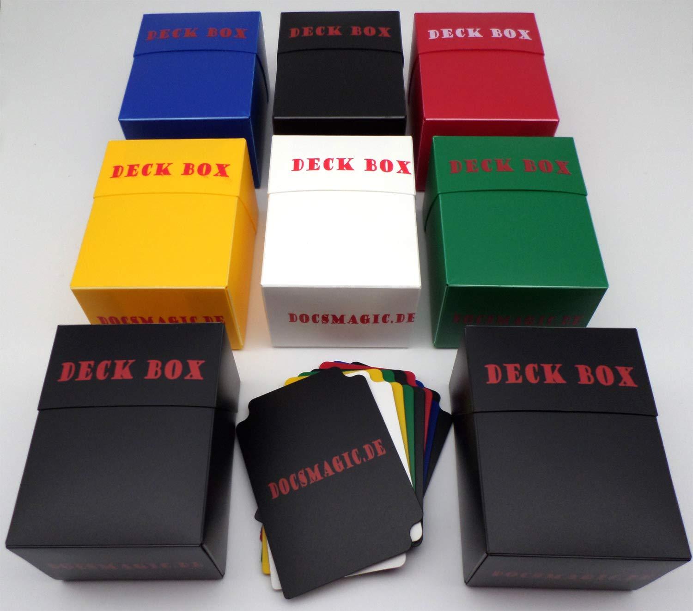 docsmagic.de Deck Box Mix - Black, Blue, Green, Red, White ...