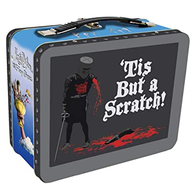 Factory Entertainment Monty Python and The Holy Grail Black Knight Tin Tote: Toys & Games