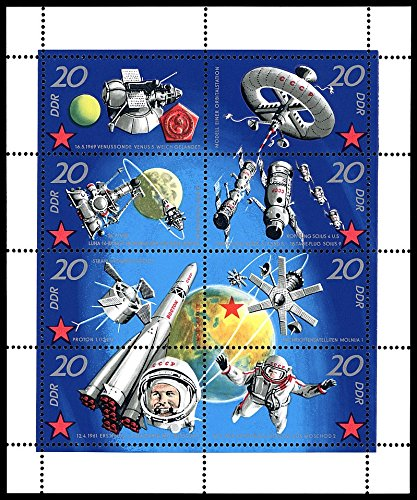 - SPECTACULAR ORIGINAL 1971 SOVIET SPACE FLIGHT SOUVENIR SHEET! LOADED w HISTORY! FLAWLESS!