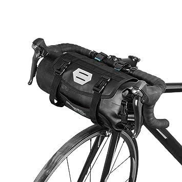 31804353be5 lixada Wasserdicht vorne Fahrrad Tasche Bike Frontrahmen Lenker  Gepäckträger mit Rolle DRY BAG Top Verschluss 3l