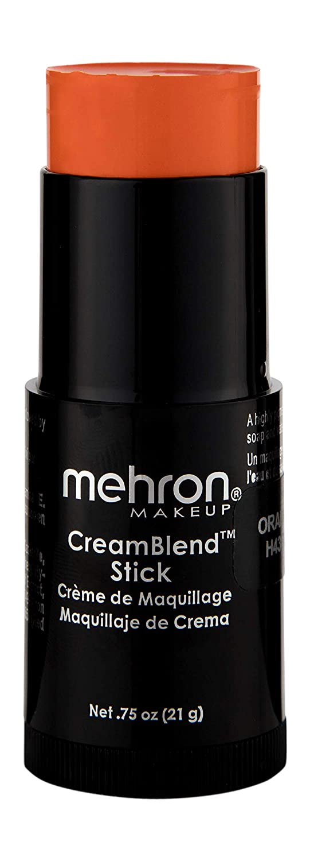 Mehron Makeup CreamBlend Stick (0.75 Ounce) (ORANGE)