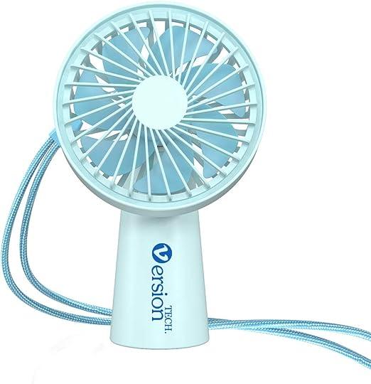 SELCNG Mini Fan Touch USB Mini Fan Office Desktop-White